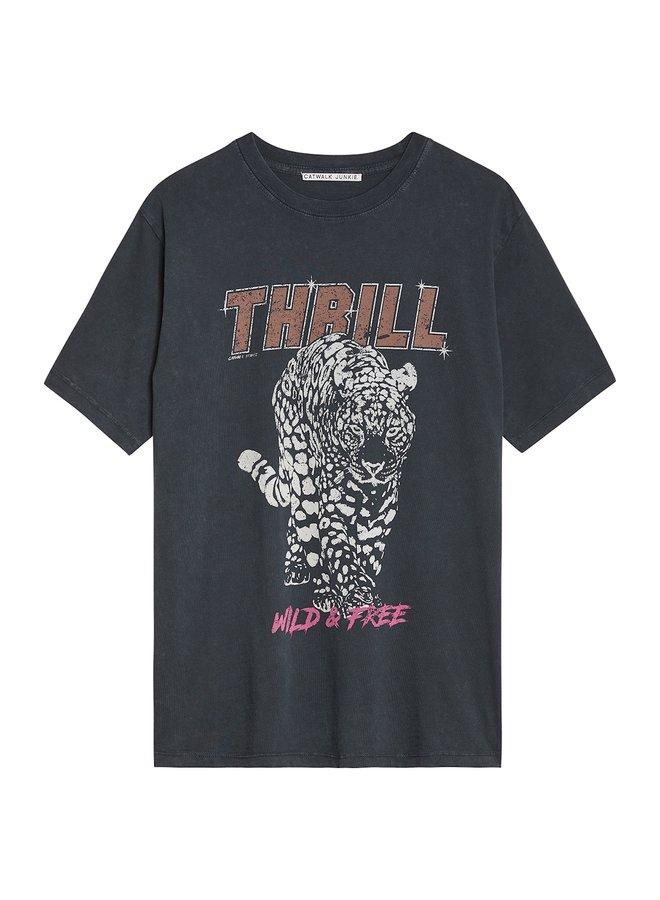 T-shirt thrill dark grey