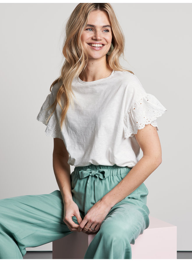 T-shirt flora off white