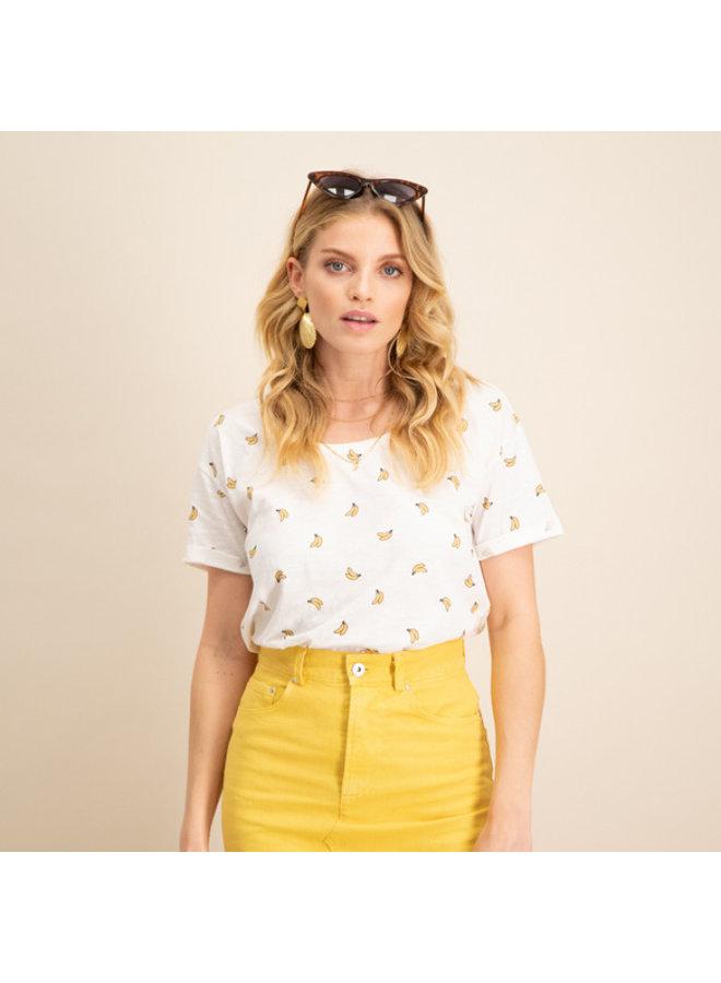 T-shirt banana please off white
