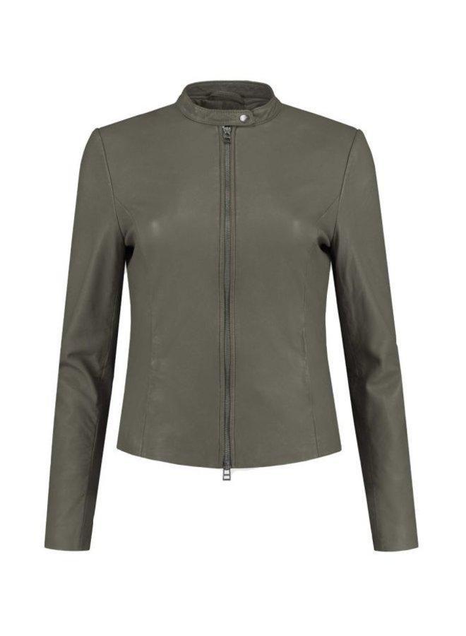 Anna Jacket Olive - 101941003-OLIVE