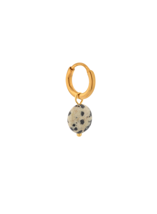 Dalmatian Round Hoop Gold
