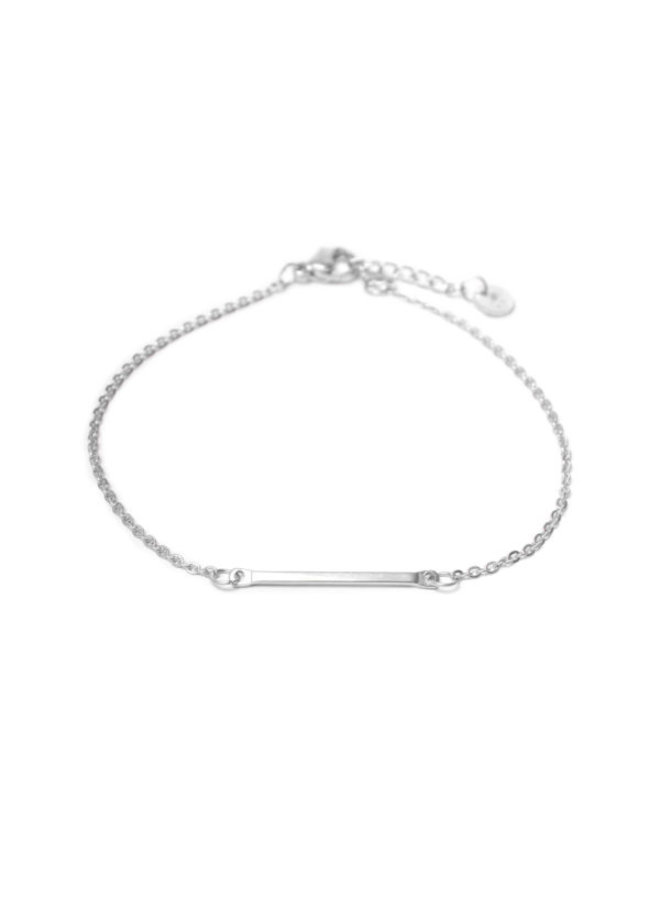 Bar Bracelet Silver