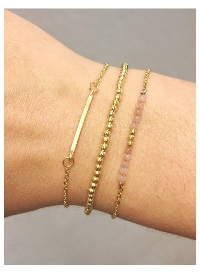 Bar Bracelet Gold - KSA23-Gold