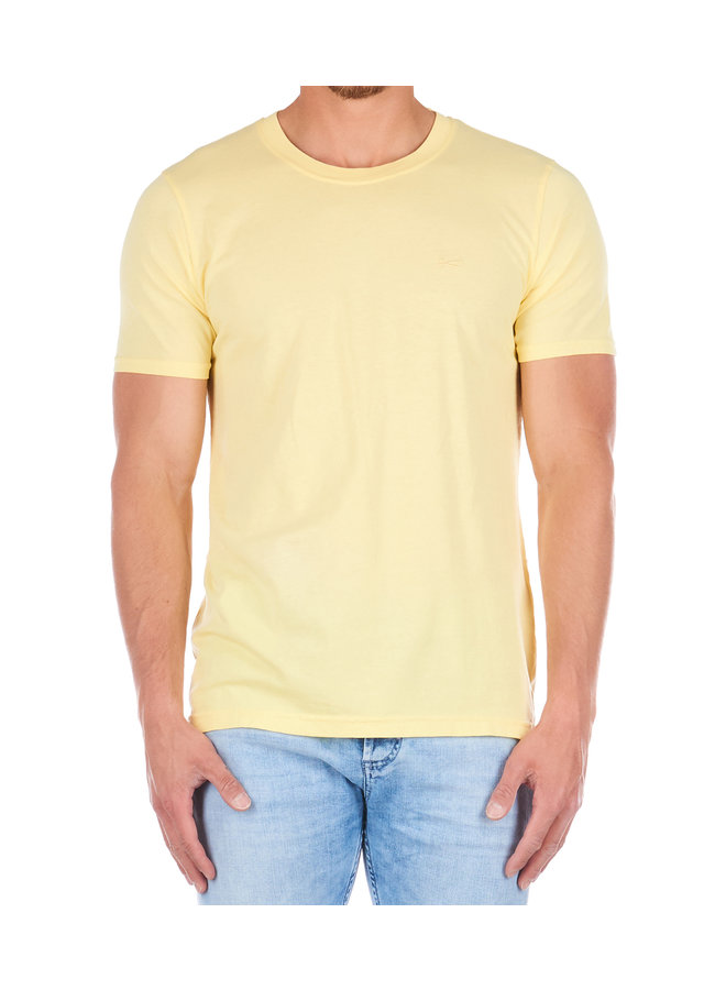 Crew Tee Custard Yellow