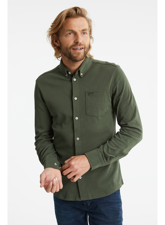 Bridge Shirt Climbing Green - 01200740120-GREEN