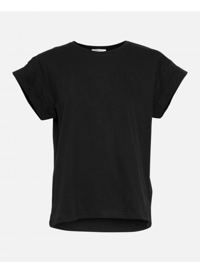 Alva Std Tee S/S Zwart - 13709-Black