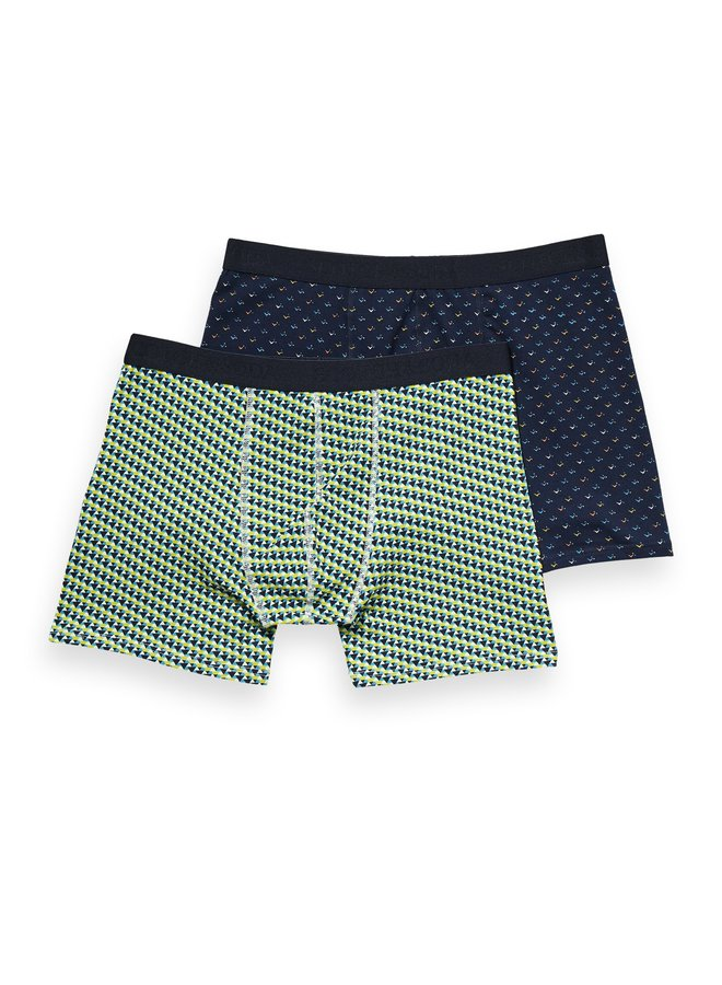 Classic Boxer Short Stripes And Prints