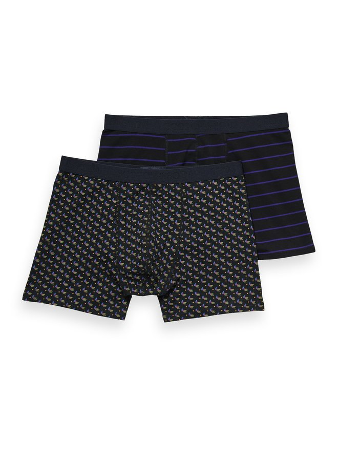 Classic Boxer Short Stripes And Prints - 157600-0219