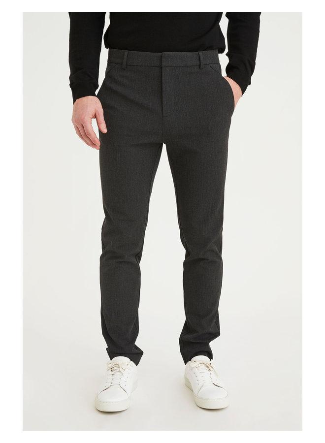 Josh pantalon dark grey melange