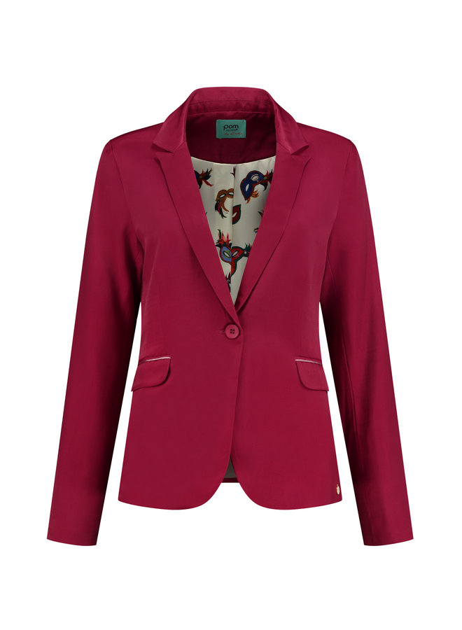 Blazer Royal Red By Katja - SP6373-Red
