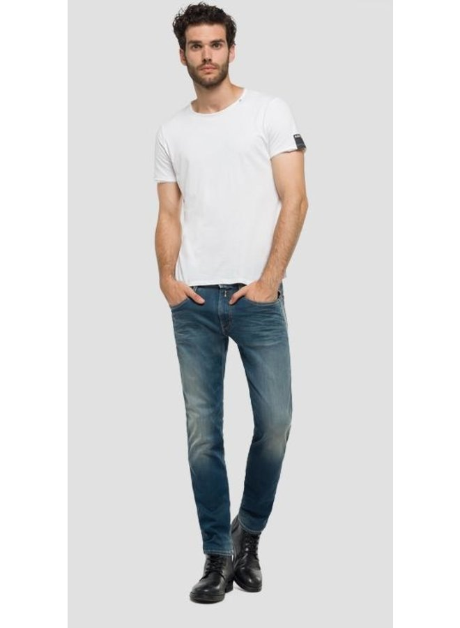 Anbass hyperflex jeans dirty wash
