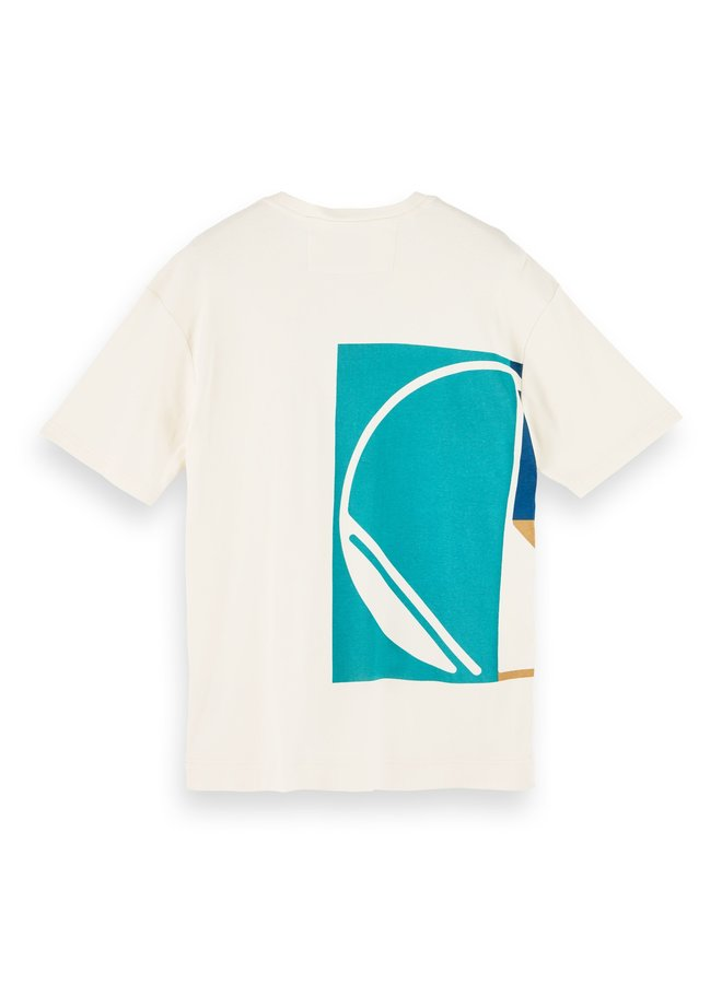 Club Nomade Tee S/S off white