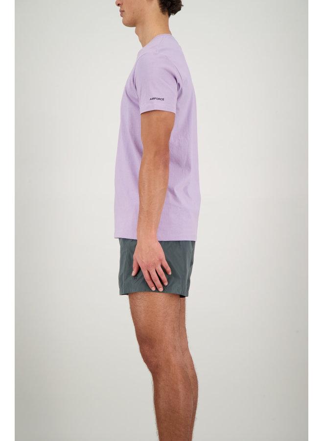 Basic outline star tee lavender