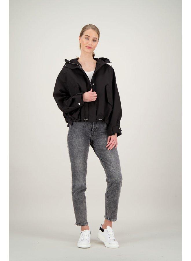 Oversized softshell jacket true black - FRW0712-901