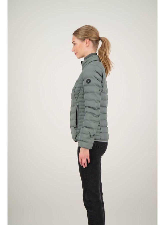 Padded jacket gun metal - FRW0501-970