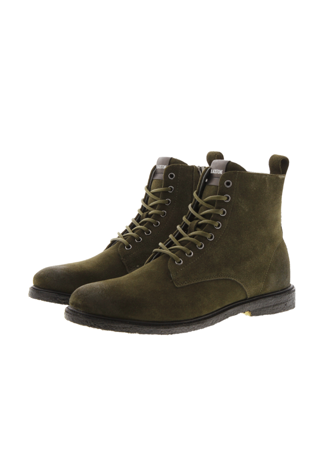 Shoe high top desert boot hunting green