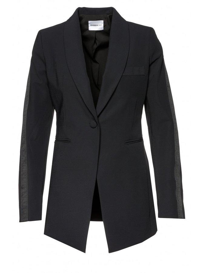 Blazer Stripe Black
