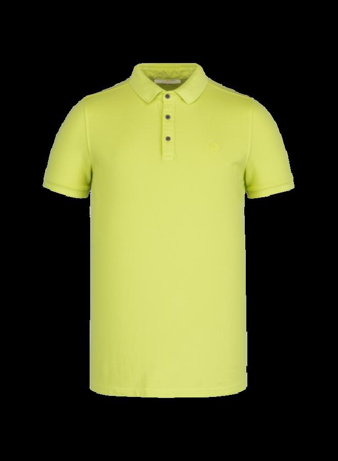Short Sleeve Polo Light Pique Stretch - Daiquiri Green