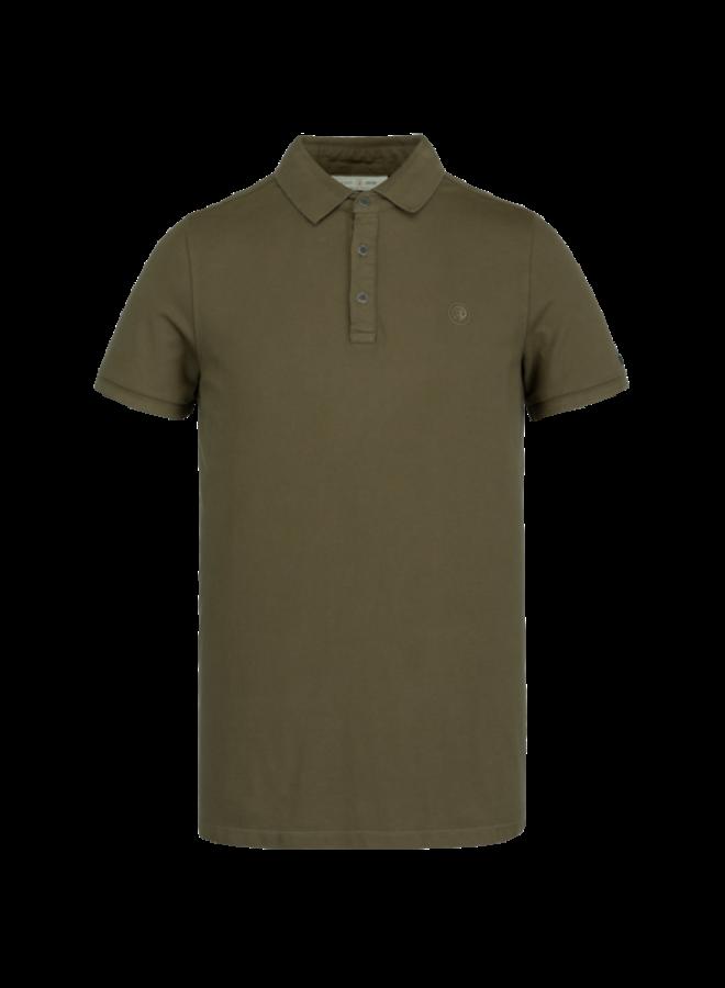 Short Sleeve Polo Light Pique Stretch - Beech - CPSS211850-8035