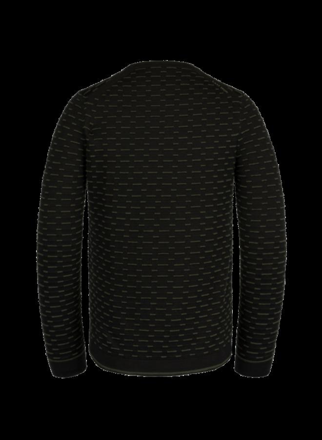 R-Neck Cotton - Black - CKW211300-999
