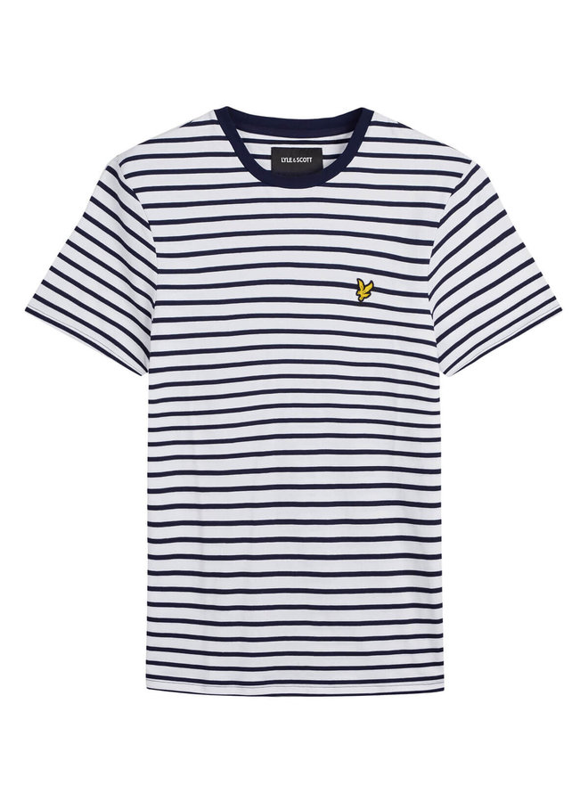 Breton Stripe T-shirt Navy/ White