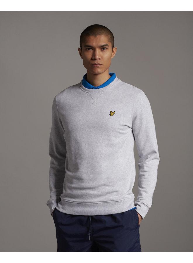 Crew Neck Sweatshirt Light Grey Marl- ML424VTR-D24