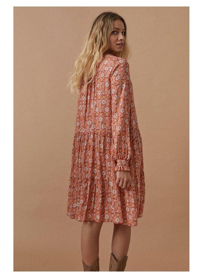 Amaya dress orange - P1212974-ORANGE