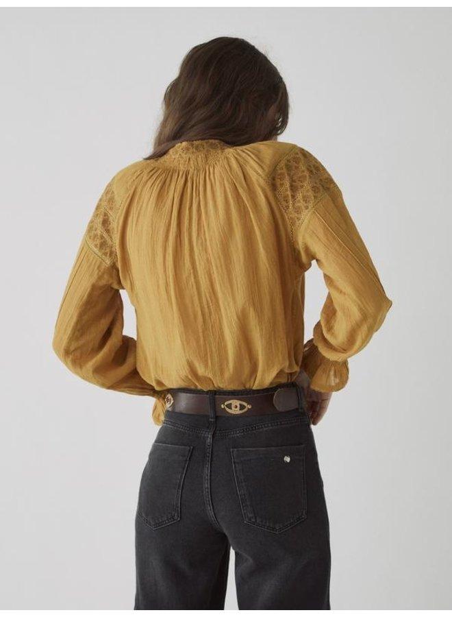 Buron blouse Gala honey