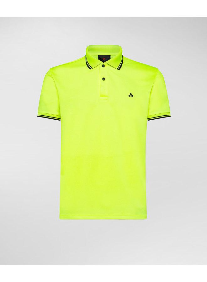Beni polo fluo yellow