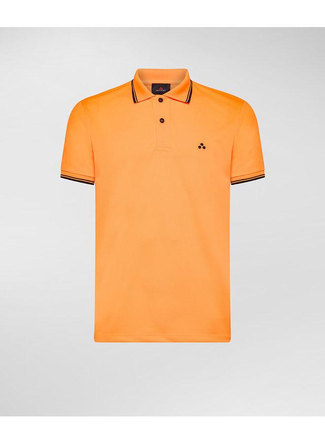 Beni polo fluo orange