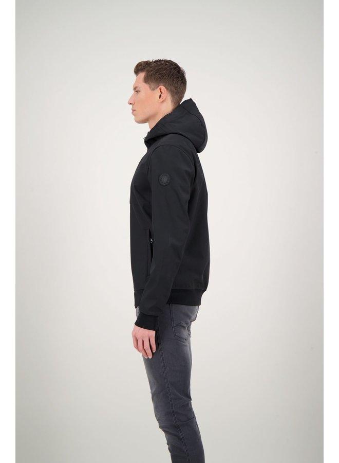 Softshell jacket true black