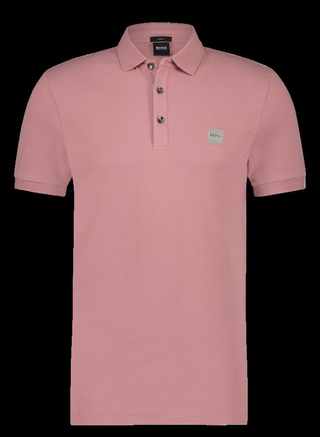 Passenger polo slim fit Light/Pastel Pink
