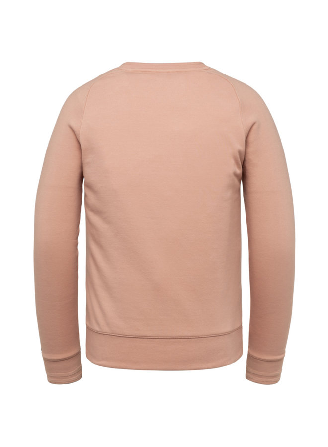 R-Neck Terry Sweat - Mellow Rose - CSW212410-3207