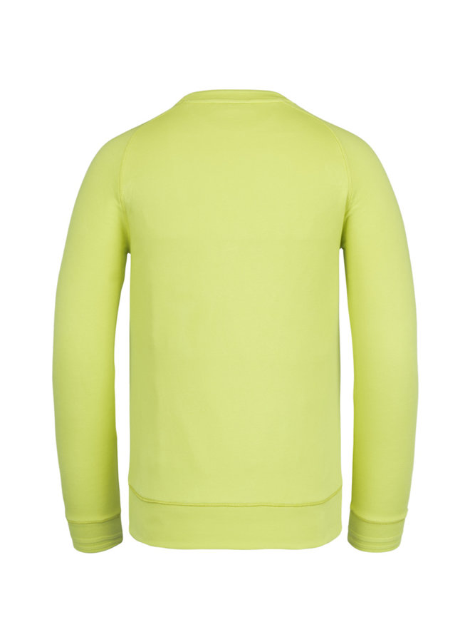R-Neck Terry Sweat - Daiquiri Green - CSW211404-6304