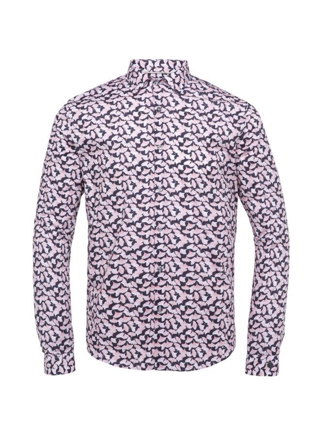 Long Sleeve Shirt Poplin Stretch - Mellow Rose