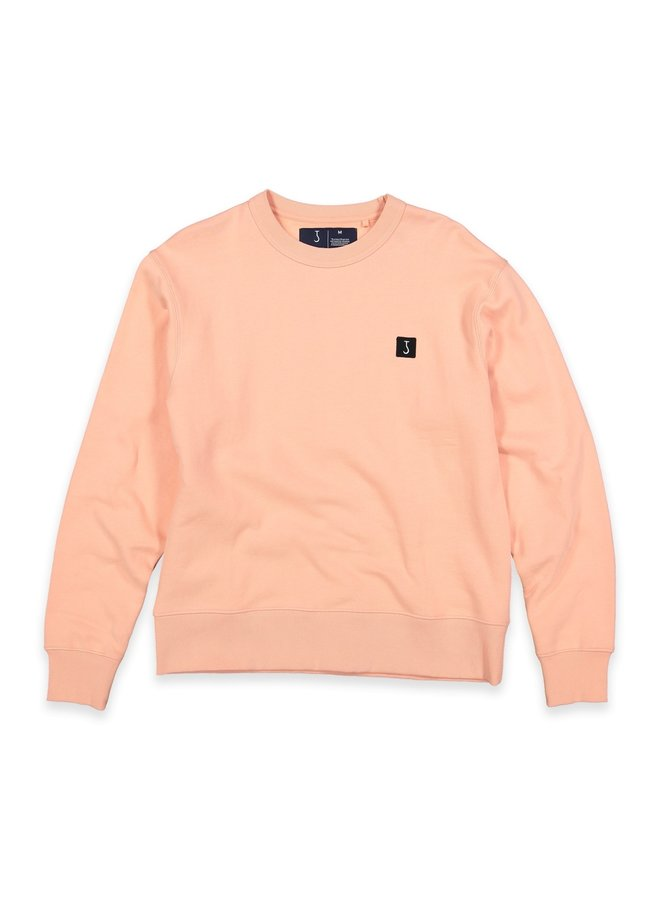 CLASSIC LOOSE CREW PALE PINK