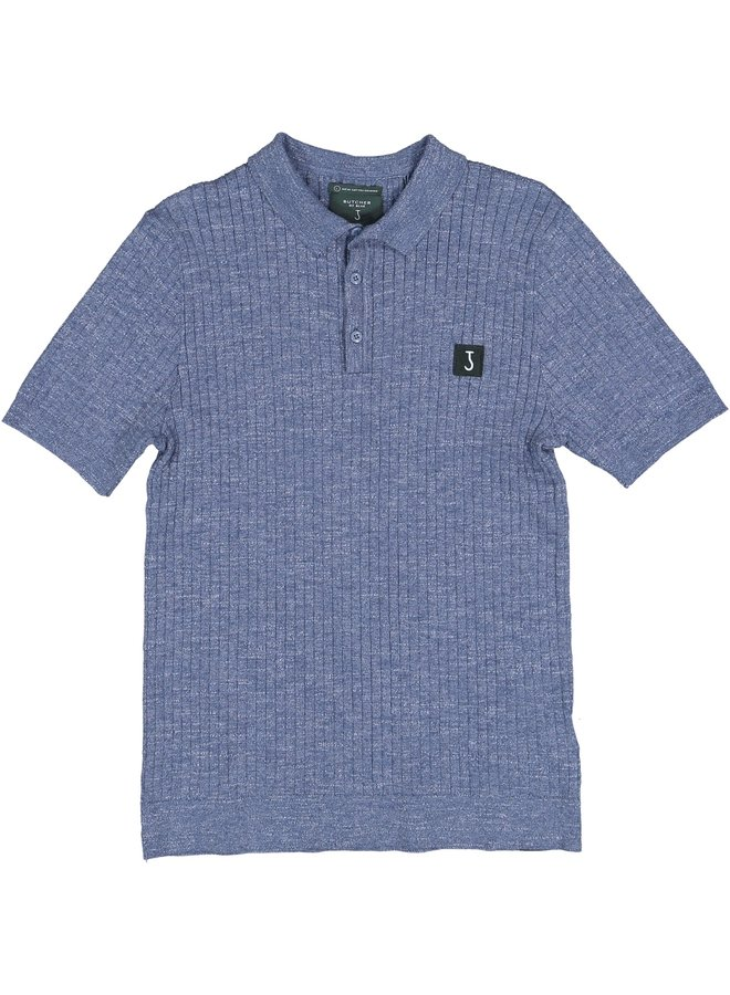 Bud polo golf blue