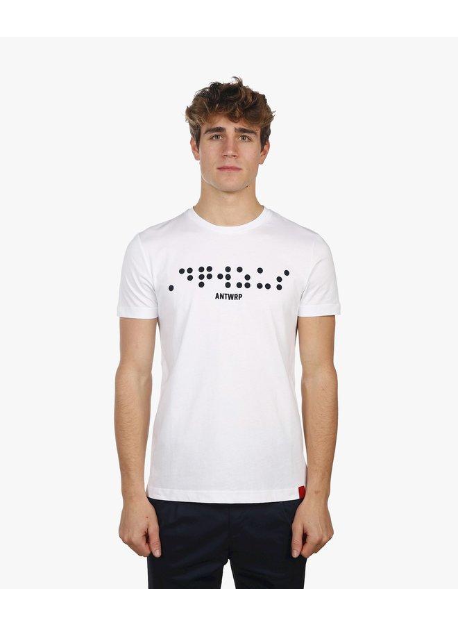 Antwrp- tee s/s white - BTS021-L001-100