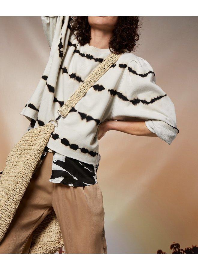 butterfly sweater tie dye silver white - 208041202-1044