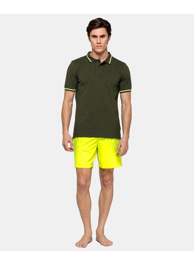 Brice polo s/s dark army Green