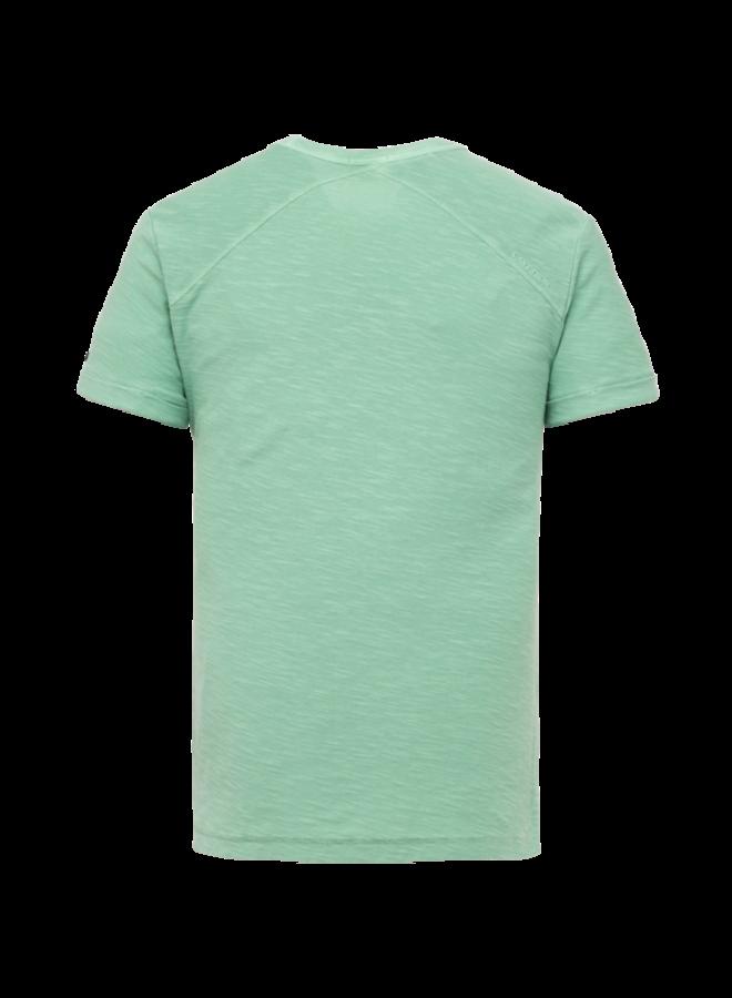 R-Neck Regular Fit Dyed Slub - Ocean Wave - CTSS213565-6089