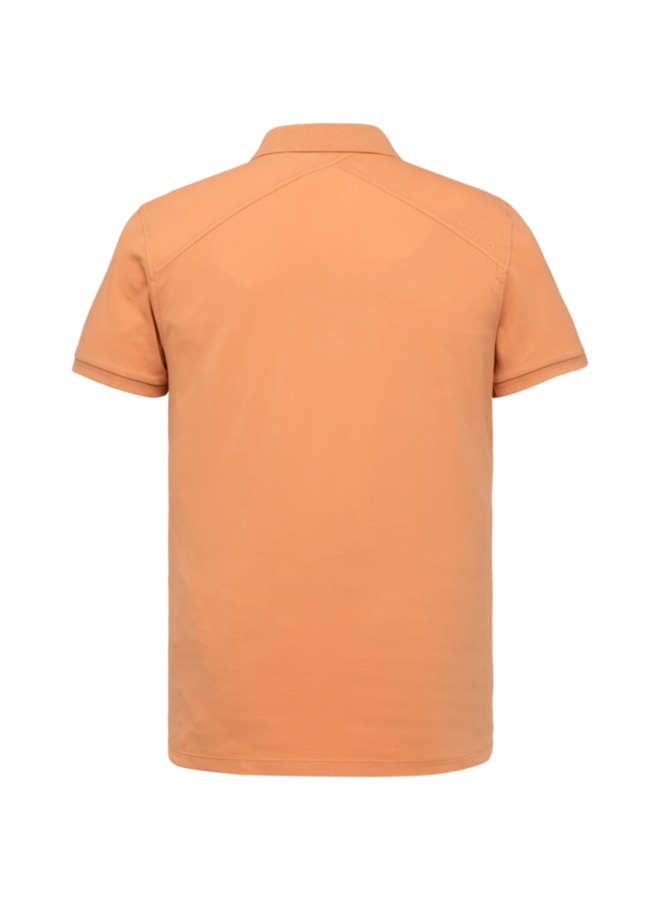 Short Sleeve Polo Slim Fit Light Pique Stretch - Dusty Coral - CPSS213868-3017