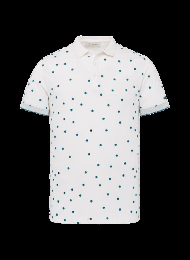 Short Sleeve Polo Mini Pique Stretch - Tofu - CPSS212858-7155