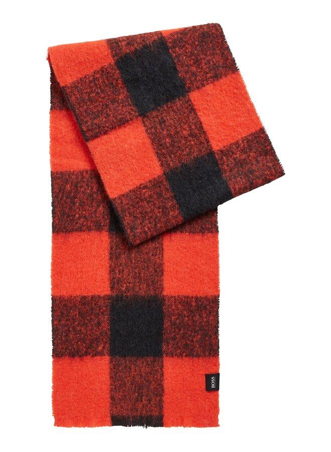 Nalumberjack orange scarf