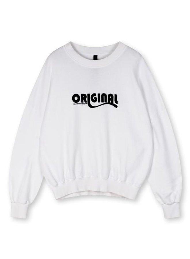 Seasonal sweater white - 208101203-WHITE