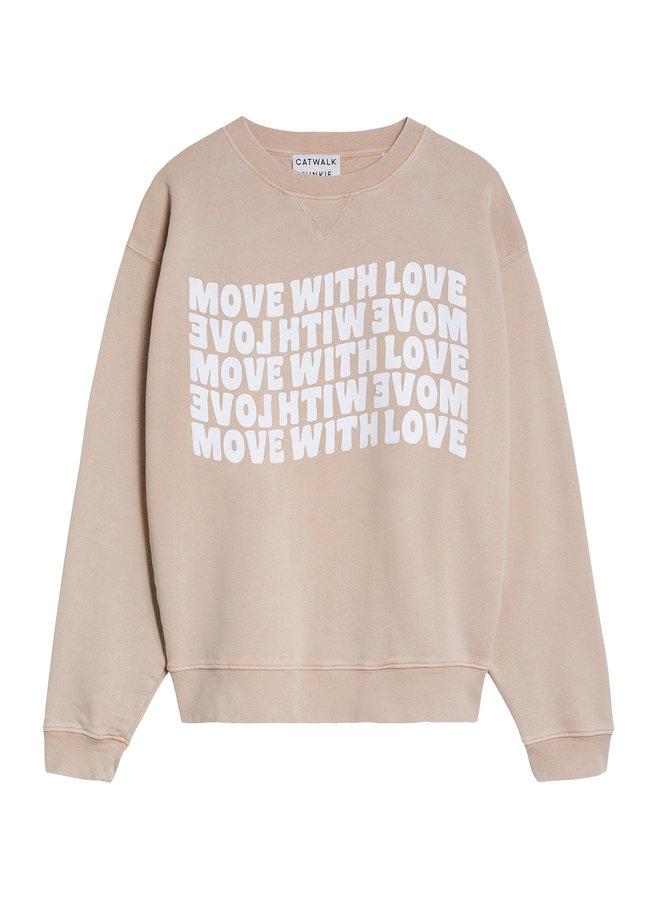 Move with love sweat safari - 2102041003-268