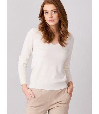 REPEAT cashmere Cashmere sweater cream