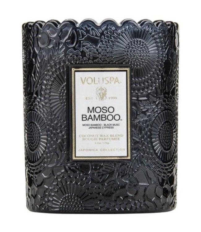 Voluspa MOSO BAMBOO - scalloped edge candle