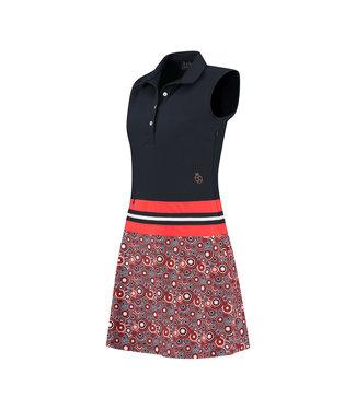 PAR69 Beaudille dress Retro print