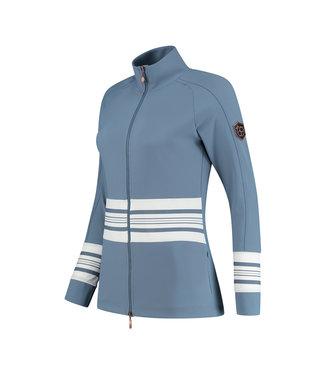 PAR69 Borg jacket Iceblue